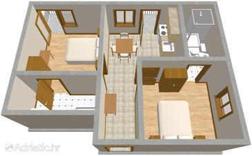 Apartment A-500-b - Apartments Baška Voda (Makarska) - 500