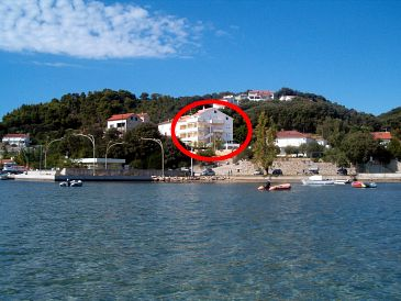 Property Kampor (Rab) - Accommodation 5009 - Apartments near sea with sandy beach.