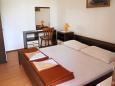 Supetarska Draga - Donja, Bedroom 1 u smještaju tipa apartment, dopusteni kucni ljubimci i WIFI.