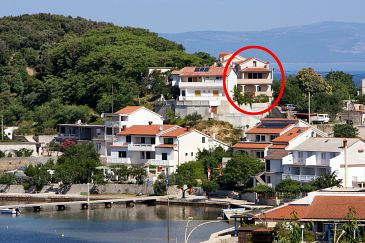 Property Kampor (Rab) - Accommodation 5034 - Apartments near sea with sandy beach.