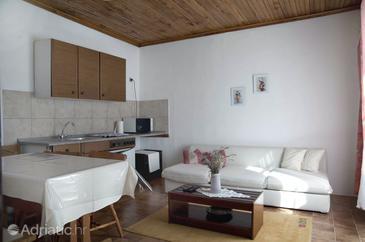 Mundanije, Living room u smještaju tipa apartment, WIFI.