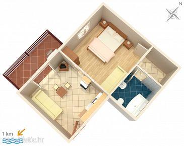 Apartment A-5084-d - Apartments Murter (Murter) - 5084