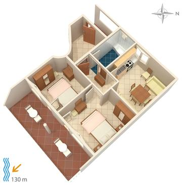 Apartment A-5086-d - Apartments Tisno (Murter) - 5086