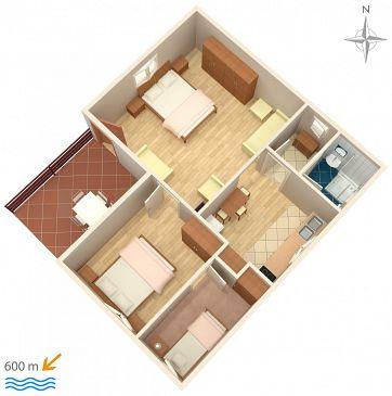 Apartment A-5103-a - Apartments Murter (Murter) - 5103