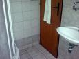 Murter, Bathroom u smještaju tipa apartment, dopusteni kucni ljubimci.