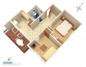 Apartment A-5123-a - Apartments Jezera (Murter) - 5123
