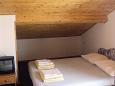 Jezera, Bedroom u smještaju tipa studio-apartment, dopusteni kucni ljubimci i WIFI.