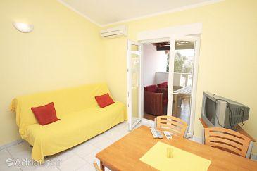 Jezera, Living room u smještaju tipa apartment, dostupna klima.