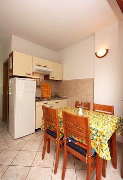 Rogoznica, Jadalnia w zakwaterowaniu typu apartment, dopusteni kucni ljubimci i WIFI.