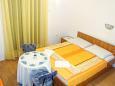 Bedroom - Studio flat AS-515-c - Apartments Podaca (Makarska) - 515
