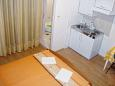 Bedroom - Studio flat AS-515-d - Apartments Podaca (Makarska) - 515