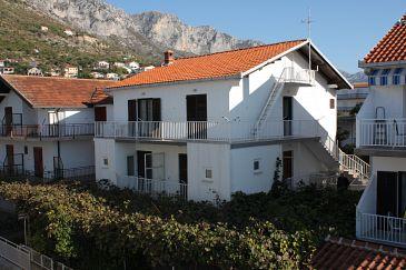 Obiekt Podaca (Makarska) - Zakwaterowanie 515 - Apartamenty blisko morza ze żwirową plażą.