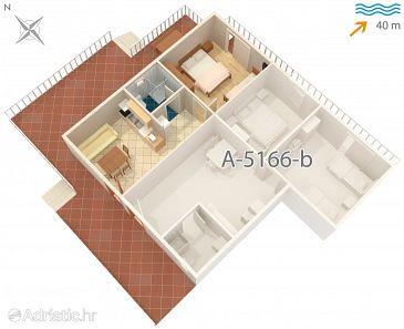 Apartment A-5166-a - Apartments Rogač (Šolta) - 5166