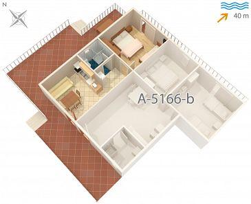 Apartament A-5166-a - Apartamenty Rogač (Šolta) - 5166