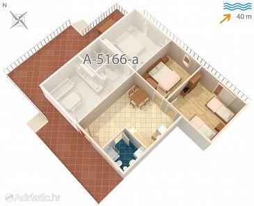 Apartment A-5166-b - Apartments Rogač (Šolta) - 5166