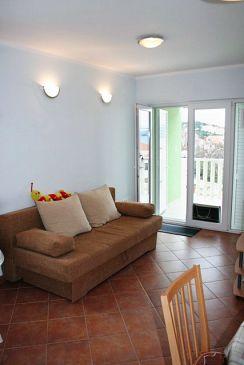 Okrug Gornji, Living room u smještaju tipa apartment, WIFI.