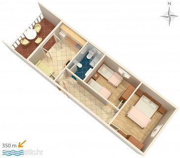 Apartment A-522-b - Apartments Mandre (Pag) - 522