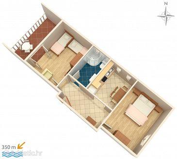 Apartment A-522-e - Apartments Mandre (Pag) - 522