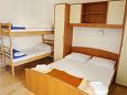 Uvala Pokrivenik, Bedroom u smještaju tipa studio-apartment, dopusteni kucni ljubimci.