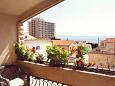 Balcony - Studio flat AS-5235-b - Apartments and Rooms Makarska (Makarska) - 5235