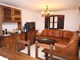 Okrug Gornji, Living room u smještaju tipa house, dostupna klima i WIFI.