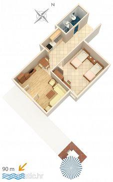Apartment A-5266-b - Apartments Igrane (Makarska) - 5266