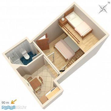 Studio flat AS-5266-a - Apartments Igrane (Makarska) - 5266