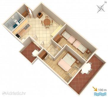 Apartment A-5269-a - Apartments Rogoznica (Rogoznica) - 5269