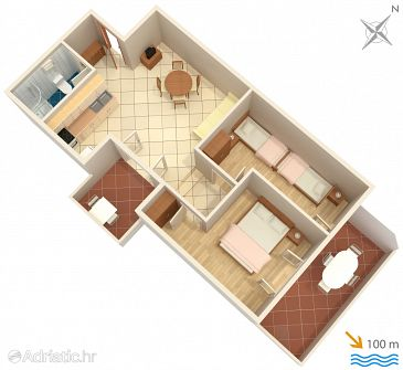 Apartment A-5269-c - Apartments Rogoznica (Rogoznica) - 5269