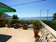 Terrace - Apartment A-5275-a - Apartments Duće (Omiš) - 5275