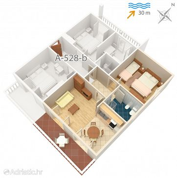 Apartment A-528-a - Apartments Pag (Pag) - 528
