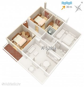 Apartment A-528-b - Apartments Pag (Pag) - 528