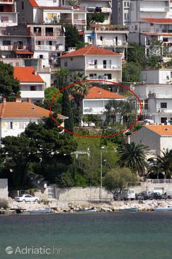 Property Omiš (Omiš) - Accommodation 5280 - Apartments near sea with sandy beach.