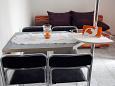 Jadranovo, Dining room u smještaju tipa apartment, WIFI.