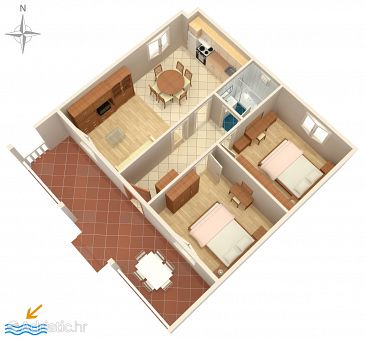 Apartment A-529-a - Apartments Pag (Pag) - 529