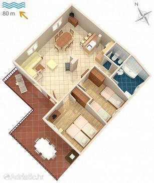 Apartment A-5290-a - Apartments Malinska (Krk) - 5290