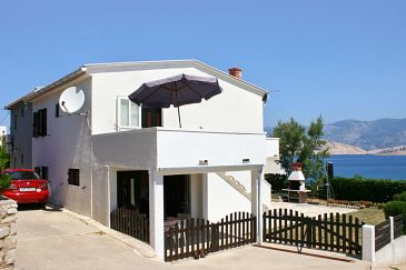 Property Pag (Pag) - Accommodation 530 - Apartments near sea with sandy beach.