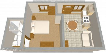 Apartment A-531-b - Apartments and Rooms Pag (Pag) - 531