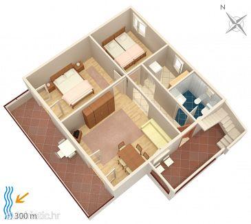 Apartment A-5312-c - Apartments Njivice (Krk) - 5312