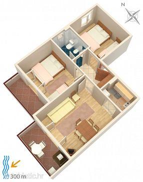 Apartment A-5312-d - Apartments Njivice (Krk) - 5312