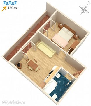 Apartment A-532-c - Apartments Pag (Pag) - 532