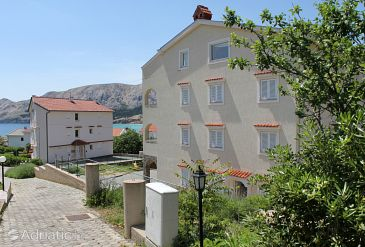 Property Baška (Krk) - Accommodation 5342 - Apartments with pebble beach.