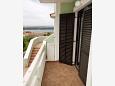 Punat, Balcony u smještaju tipa apartment, s pogledom na more, dopusteni kucni ljubimci i WIFI.