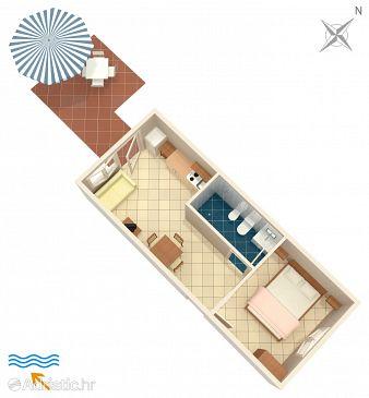 Apartment A-5351-b - Apartments Punat (Krk) - 5351
