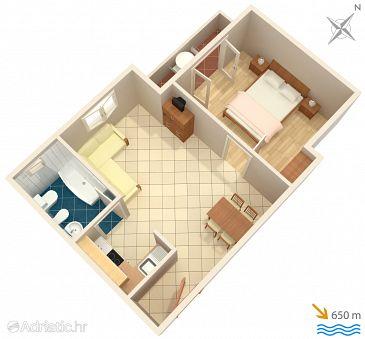 Apartment A-5354-a - Apartments Baška (Krk) - 5354