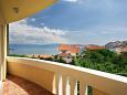Baška, Balcony 2 u smještaju tipa apartment, dopusteni kucni ljubimci.