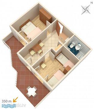 Apartment A-536-c - Apartments Novalja (Pag) - 536