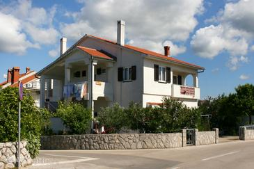Property Krk (Krk) - Accommodation 5364 - Apartments with pebble beach.