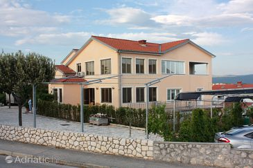 Property Krk (Krk) - Accommodation 5365 - Apartments and Rooms with pebble beach.