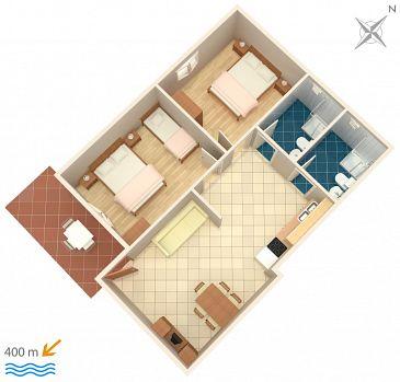 Apartment A-5381-c - Apartments Krk (Krk) - 5381